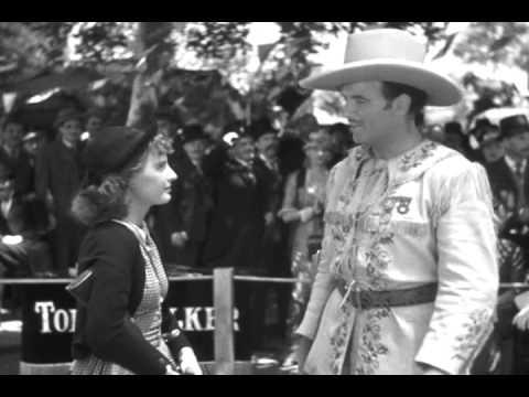 Annie Oakley vs. Toby Walker in ANNIE OAKLEY (1935)