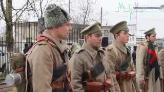 В Кингисеппе открыли памятник солдатам и офицерам 146-го пехотного Царицынского полка Русской армии