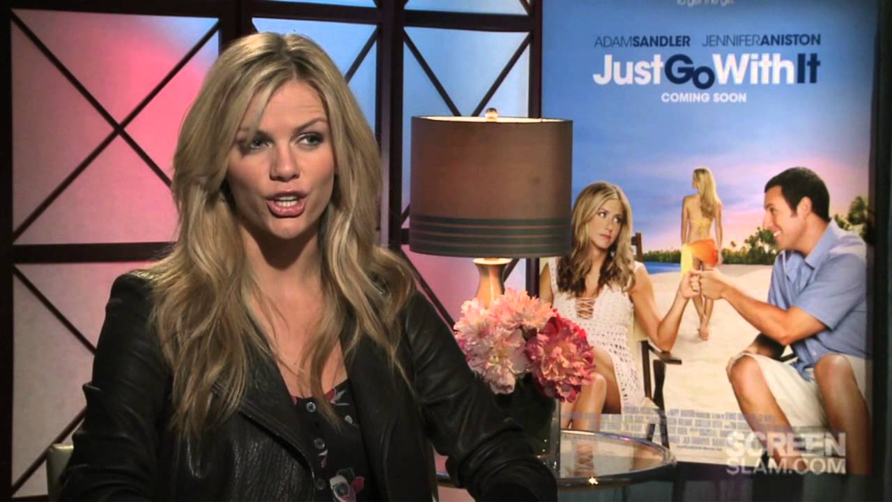 Just Go With It Brooklyn Decker Exclusive Movie Interview