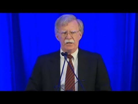 John Bolton Threatens International Criminal Court Judges for Probing U.S. Torture in Afghanistan