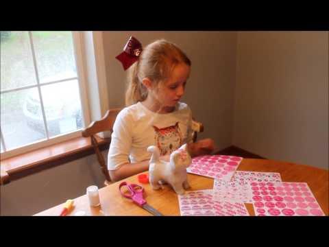 Melissa and Doug Decopauge Kitten kids craft