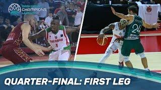 First Leg Mini-Movie | Quarter-Finals | Basketball Champions League