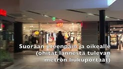 Irti Maasta Helsinki saapuminen metrolla idästä