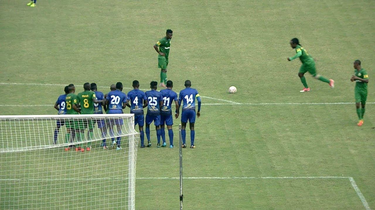 Goli la Kamusoko Yanga 1- 0 Mbao FC