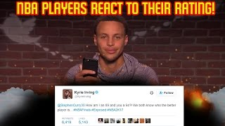 NBA PLAYERS REACT TO THEIR NBA 2K17 RATING!