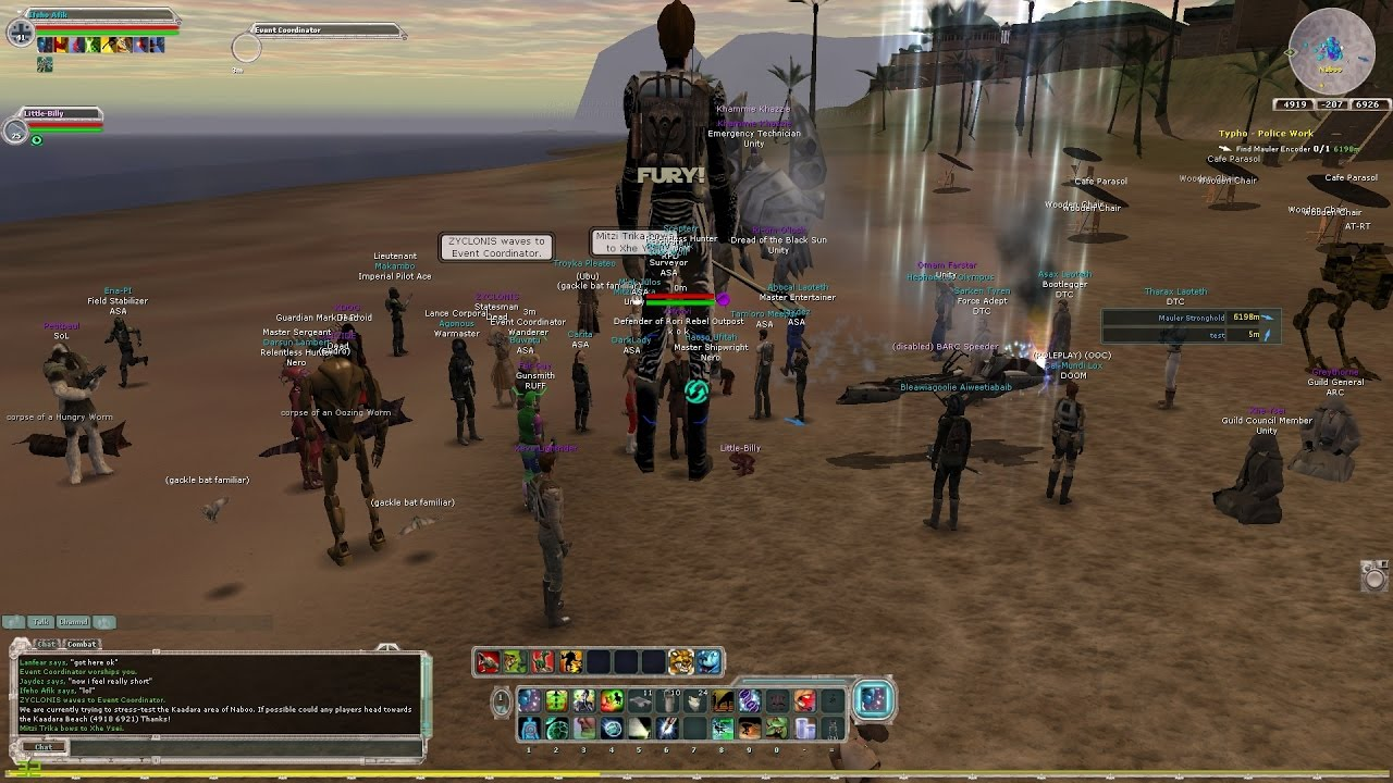 Swg Clone Wars Mod: Star Wars Galaxies Legends