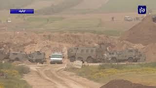 مواجهات بين  الفلسطينيين وقوات الاحتلال في غزة والضفة الغربية - (26-4-2016)