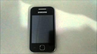 Como remover qualquer senha do Samsung Galaxy Y GT - S5360B ( Hard Reset ) !!!