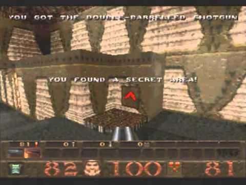 Quake Game Sample - Sega Saturn