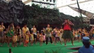 福島のスパリゾートハワイアンの映像です。