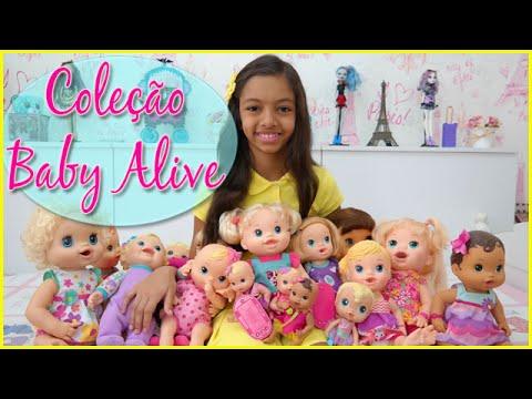 MINHA COLEÇÃO DE BABY ALIVE ATUALIZADA - MY COLLECTION OF BABY ALIVE UPDATED