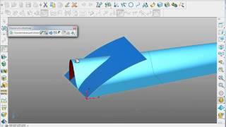 PowerSHAPE. 5 пример: поверхностное моделирование