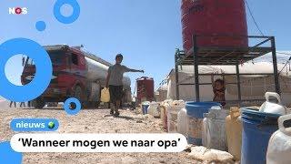 Vrouwen en kinderen uit IS gebied eisen hulp