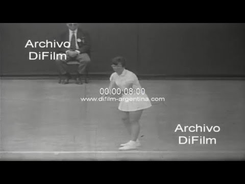 DiFilm - Billie Jean King vs Kathy Harter - Wimbledon Championships 1967