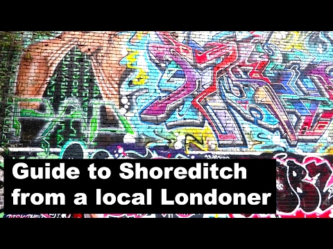 Travel and london guide shoreditch