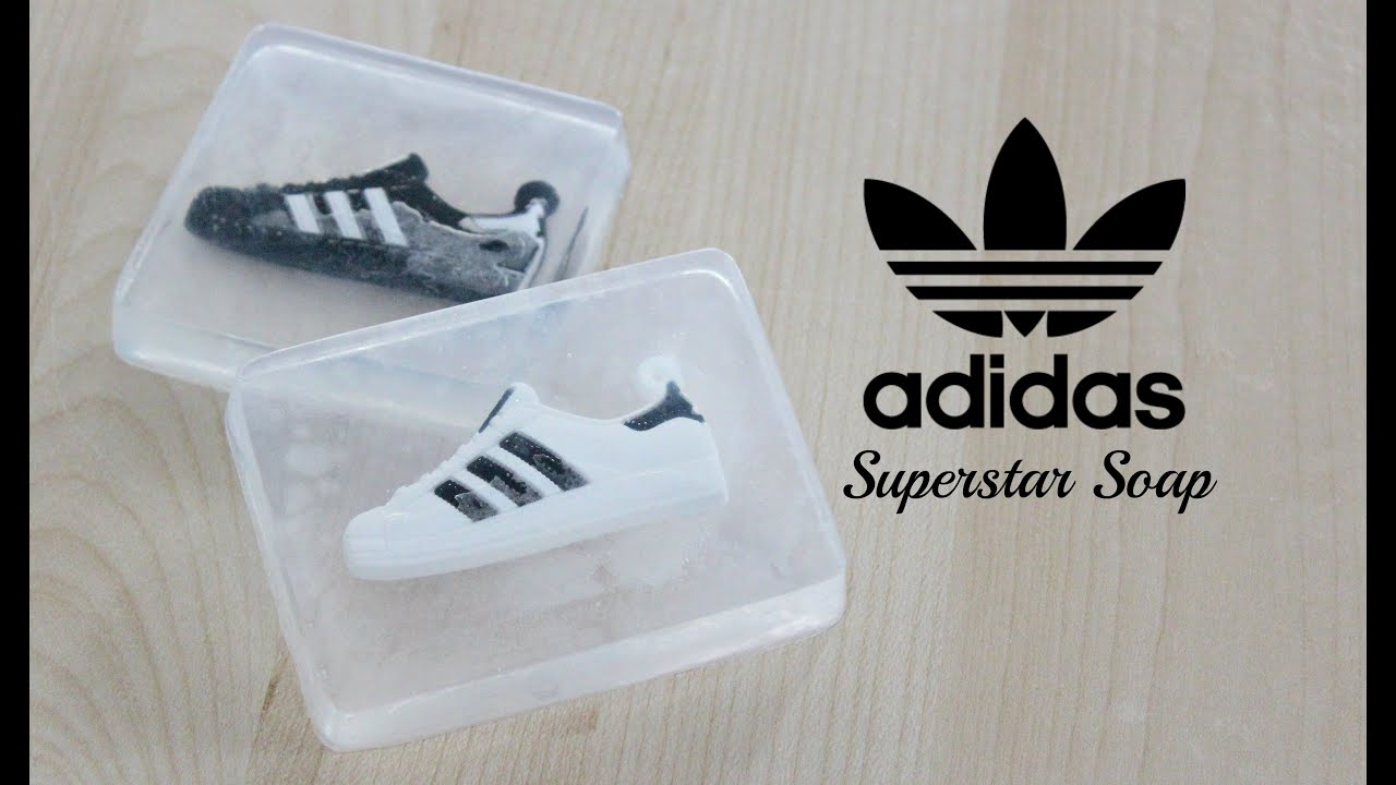 adidas giveaway diy adidas superstar sneaker soap mini giveaway youtube 3783