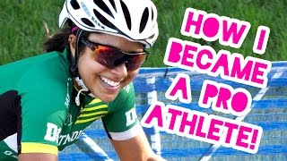 The story of how I went from semi-athletic person to pro cyclist! I...