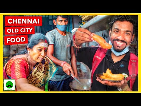 Old Chennai Food Tour | Indian Street Food | Veggie Paaji