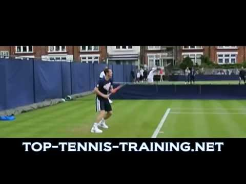 Tennis Forehand Slow Motion | Top 10 Forehands