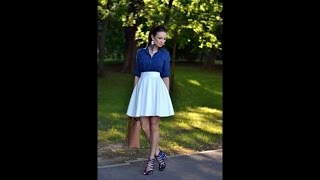 How to Wear White Skirts - Trend for This Summer