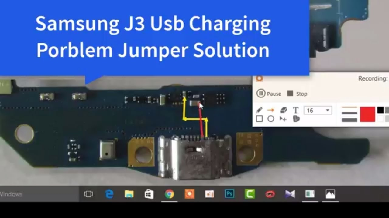 Samsung Galaxy J3 J320h Mic Ways Problem Jumper Solution