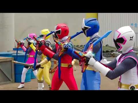 Power Ranger Ninja Steel | Rangers vs Trapsaw - Capitulo 10
