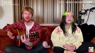 bad guy - Billie Eilish (acoustic) at the 'Music Station ULTRA SUPER LIVE 2020'