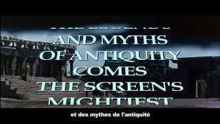 HERCULES (Le fatiche di Ercole - Les travaux d'Hercule) - original 1959 US trailer