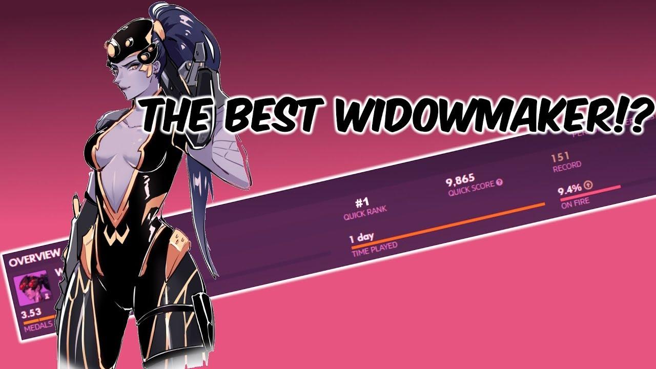 The Best Console Widowmaker!? (Overwatch Widow Montage)