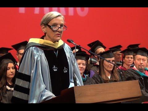 AUP Graduation 2015 Speeches: Lisa Anderson, President, American University in Cairo