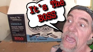 BOSS AUDIO ASK902B.6  500 WATT  Amplified Bluetooth System - INSTALLED, Reviewed, And TESTED!