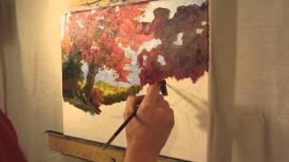 Inspiring Oil Painting Demonstration - Modern Impressionism