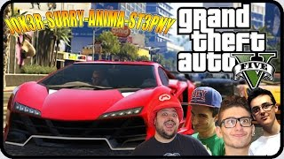 GTA 5 Online : BASTARDI ! w/Anima,St3pNy & SurrealPower !