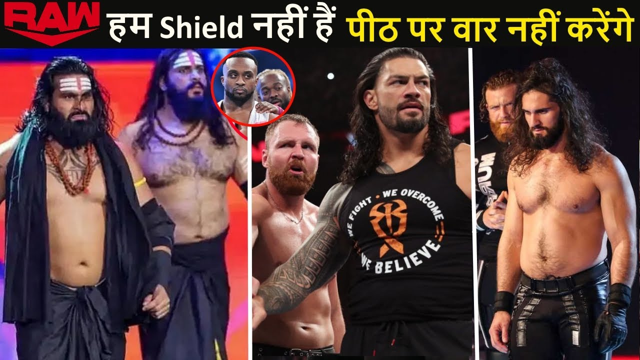 Seth Rollins in Raw Underground - WWE Shield Break Up Example BIG E   Indus Sher Tag Team Champions