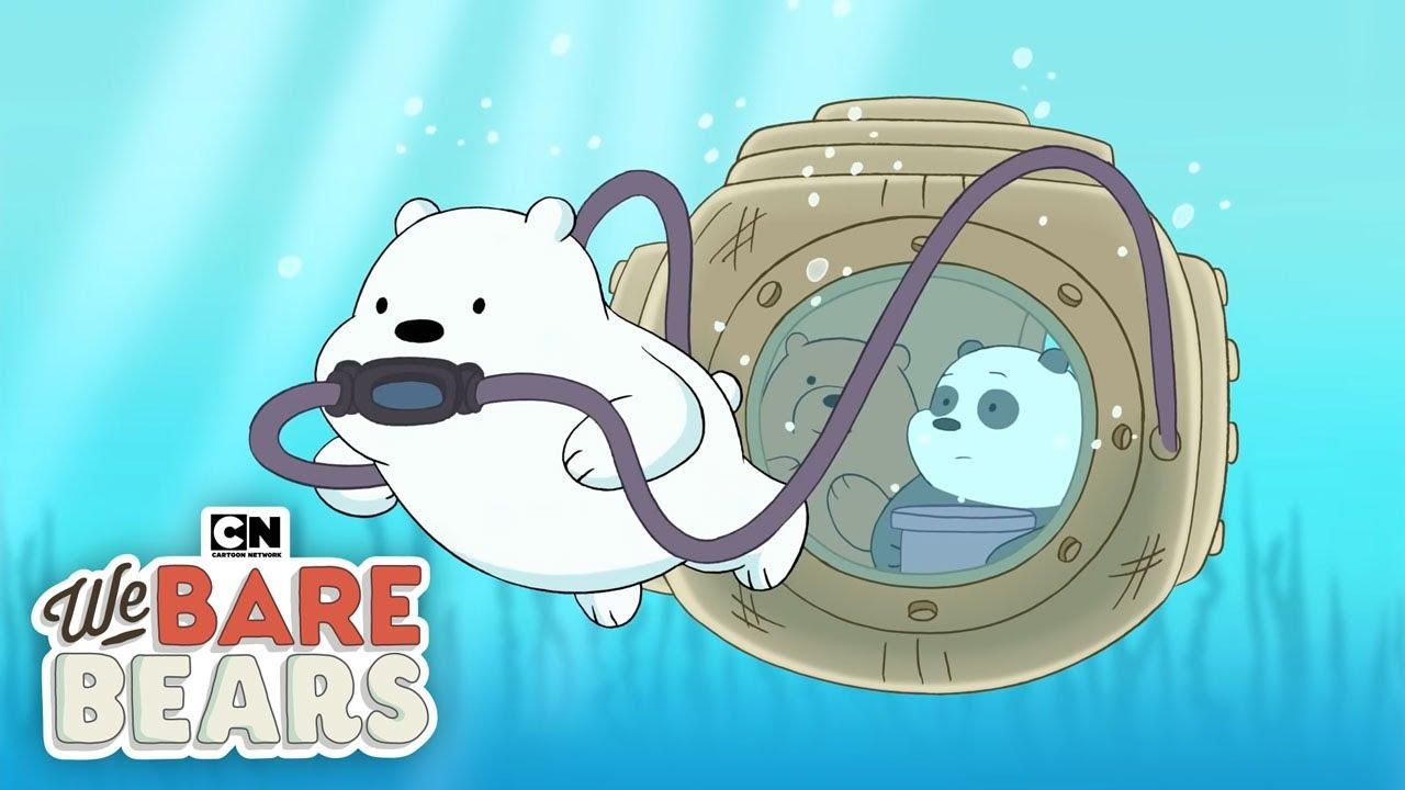 we bare bears underwater baby bears cartoon network youtube