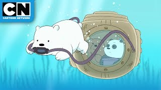 We Bare Bears | Underwater Baby Bears | Cartoon Network