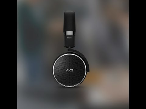 82ec4f57cae AKG N60NC Wireless On-Ear Wireless Headphones with Active Noise Cancellation  Unboxing Review