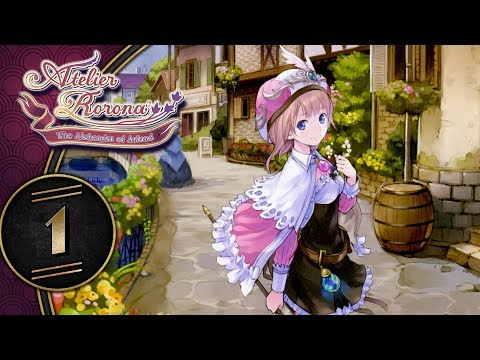 Atelier Rorona: The Alchemist Of Arland DX (Switch, Letu0027s Play) | Closing Down The Atelier! | Part 1