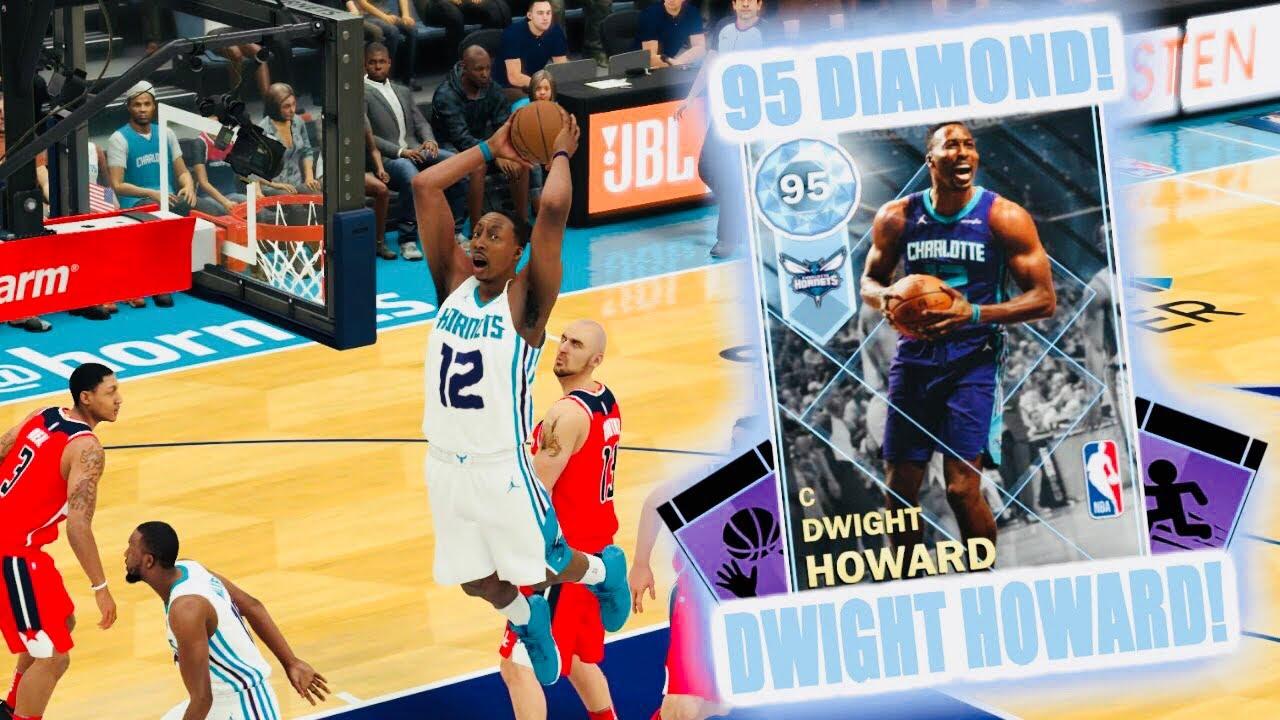 a74044f36059 NBA2K18 MyTeam  NEW  Diamond Dwight Howard Gameplay!!! Near Triple Double!!!