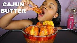 SPICY CAJUN SEAFOOD BOIL MUKBANG 먹방  + GIGANTIC PRAWNS + GIVEAWAY  QUEEN BEAST