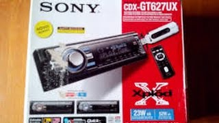 Instalando o som SONY CDXGT627UX
