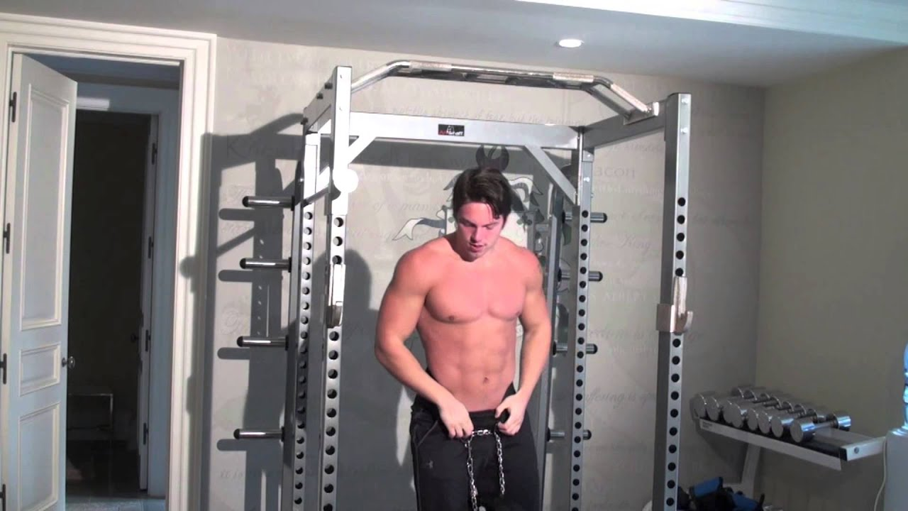 Chin ups and Standing Press's - Elite Strength & Muscle ...