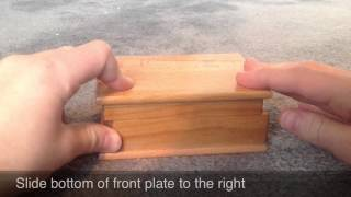 Easy 1 Or 2 Step Puzzle Box