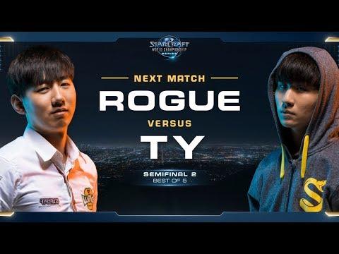 Rogue vs TY ZvT – Semifinal 2 – WCS Global Finals 2017 – StarCraft II