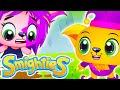 Smighties - A Big Super Sticky Glue Funny Prank Epi | Cartoons For Kids | Children's Animation Video