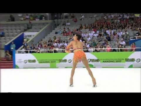 Silvia Nemesio World Roller Games 2017