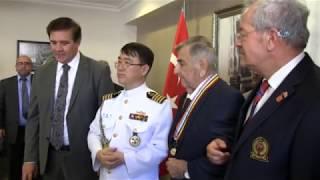 90 Yaşındaki Kore Gazisi Şehabettin Akkın'a , 68 Yıl Sonra Madalya Verildi
