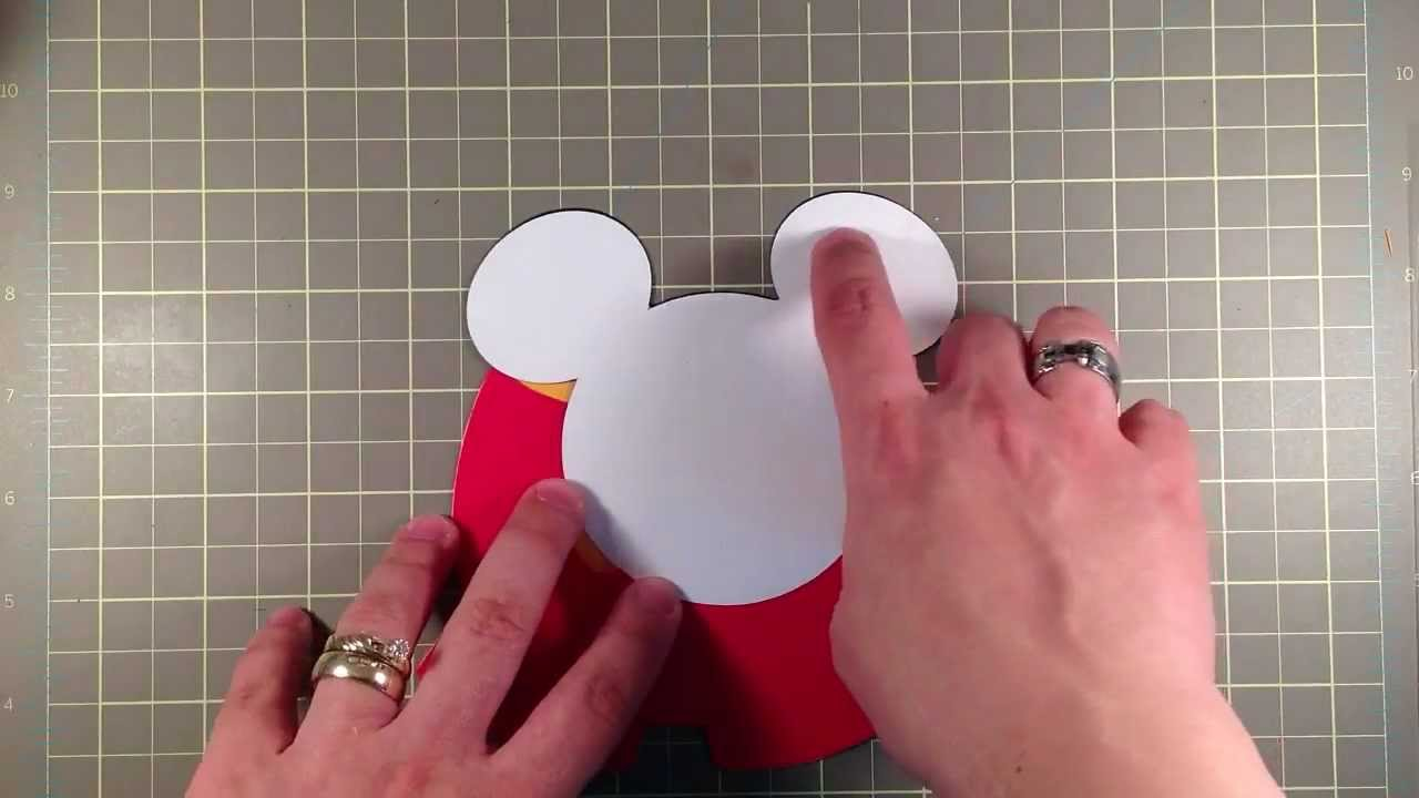 Mickey Mouse Birthday Invitataion - YouTube