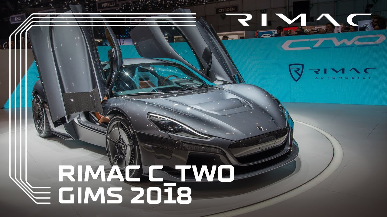 Rimac at Geneva Motor Show 2018: World Premiere of the C_Two