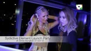Nicole Chen With Paris Hilton In Bangkok Thailand